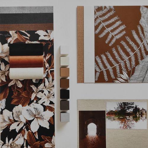 Tapetti- ja mallikirjat auttavat meitä valitsemaan sinulle sopivat kuosit ja värit.